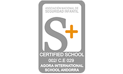 S+ AGORA INTERNATIONAL SCHOOL ANDORRA_Logo colaborador